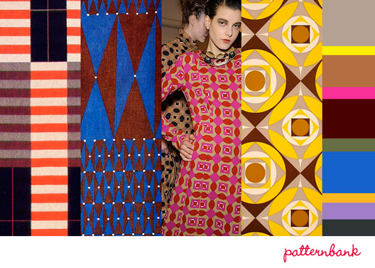 Patternbank Optical Day Print Trend A/W 13/14