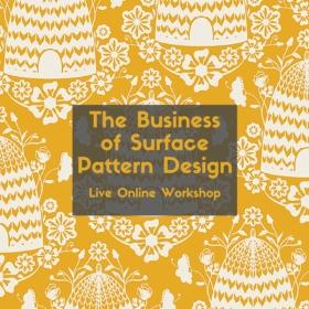 The Business of Surface Pattern Design Live Online Workshop | Pitter Pattern
