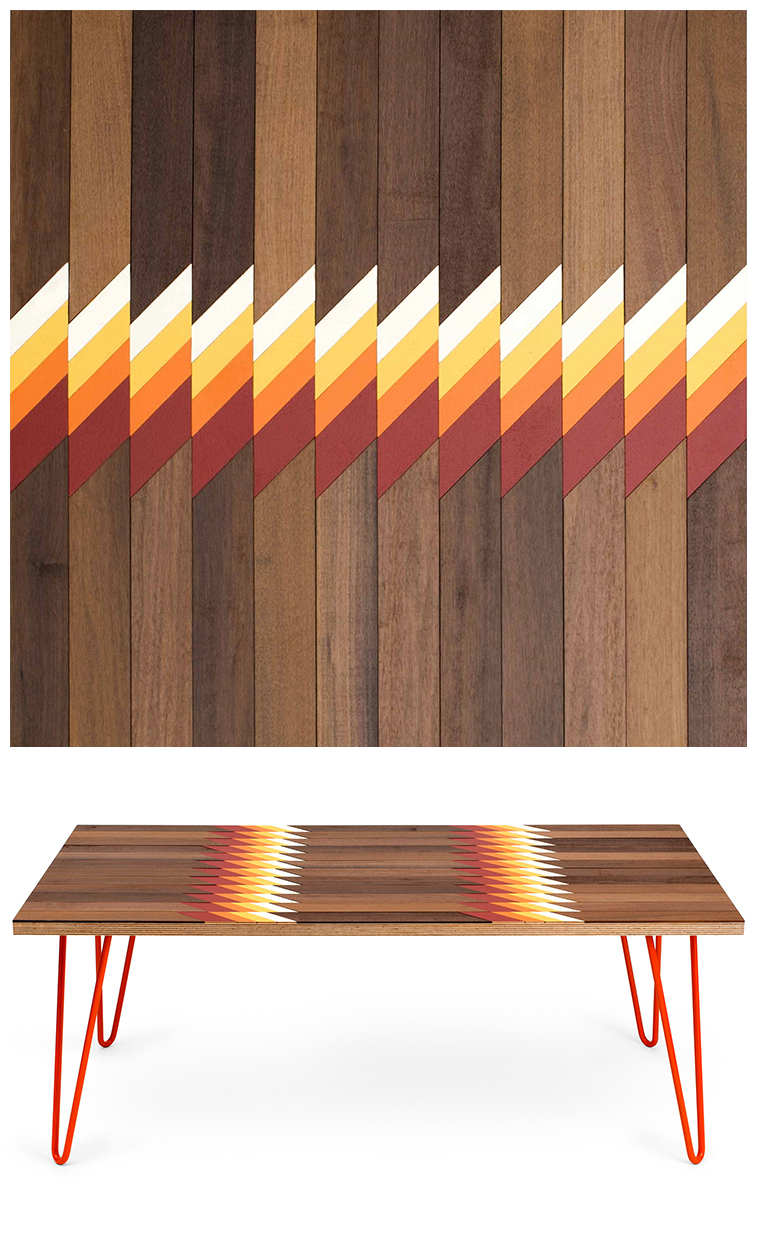 13SI - Inlaid coffee tables by Metier | Pitter Pattern