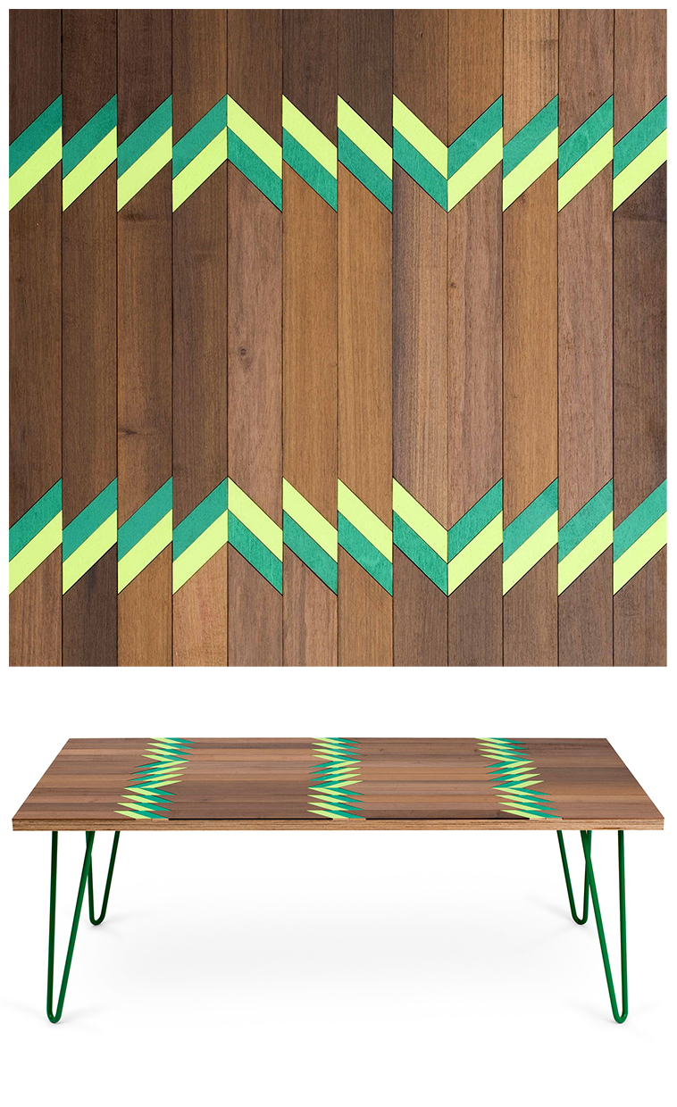 14SI - Inlaid coffee tables by Metier | Pitter Pattern
