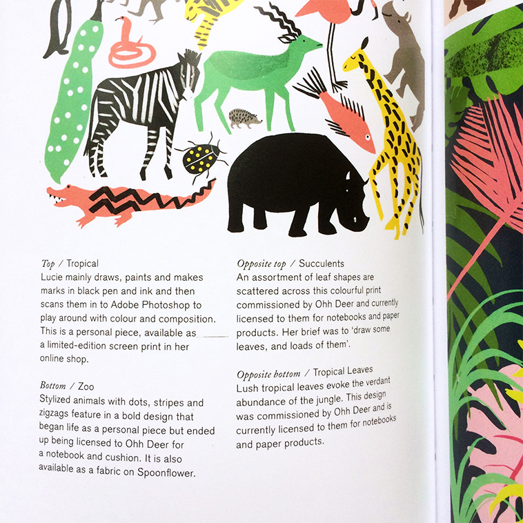 Print & Pattern Nature book [Lucie Sheridan - Captions] | Pitter Pattern