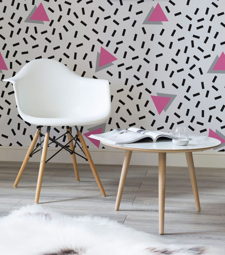 80s Wallpaper - Memphis Style [2] | Pitter Pattern