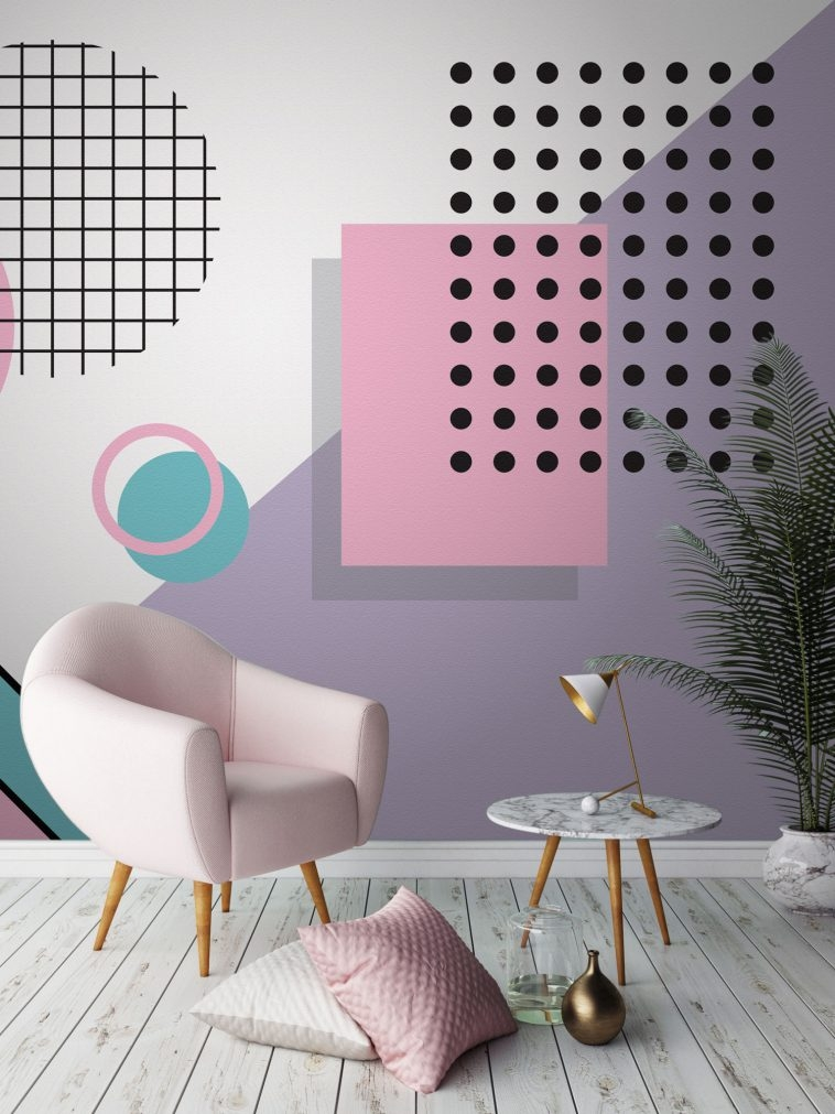 80s Wallpaper - Memphis Style [3] | Pitter Pattern