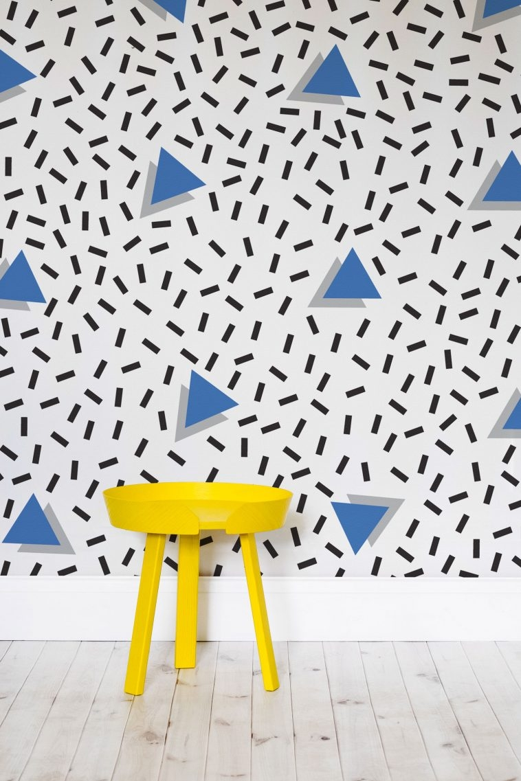 80s Wallpaper - Memphis Style [7] | Pitter Pattern