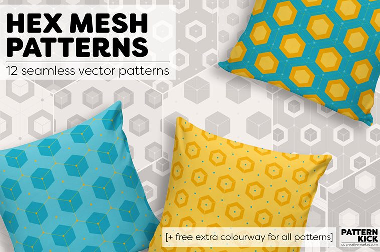 Geometric Prints and Patterns at Pattern Kick - Creative Market [1] | Pitter Pattern