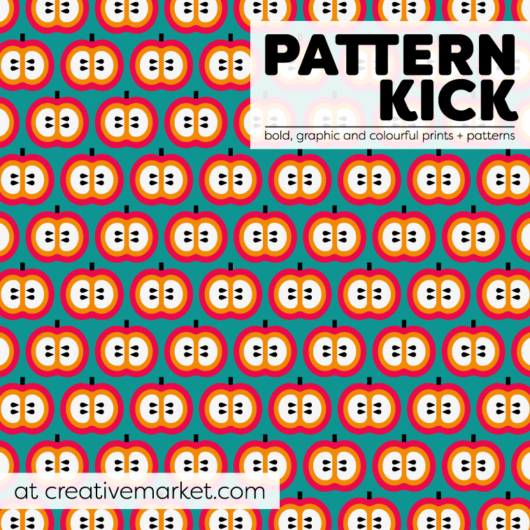 Prints and Patterns at Pattern Kick - Creative Market | Pitter Pattern